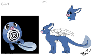 Poliwag angel dragon adopt (CLOSED) by FlameNelson