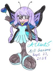 Atlantis the Butterfly by germanname
