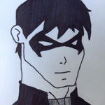 Nightwing doodle by CloudDoodle