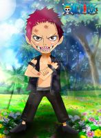 One Piece Chapter 893 Luffy Katakuri Child Monster by Amanomoon