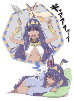 Nitocris's nightmare by tonee89