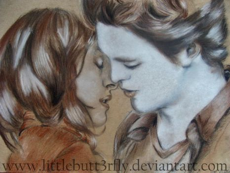 Bella and Edward by littlebutt3rfly