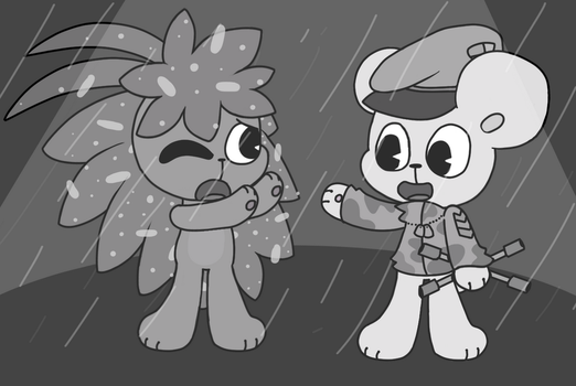 Without a Hitch-HappyTreeFriends[FanART] by SnowyAcorN
