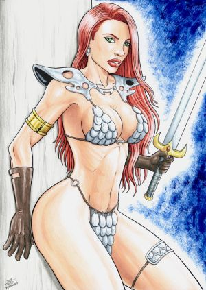 RED SONJA by TIAGO-FERNANDES