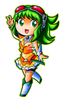 Megpoid Gumi by Kamira-Exe