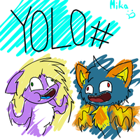 YOLO # xD by MikaMilaCat
