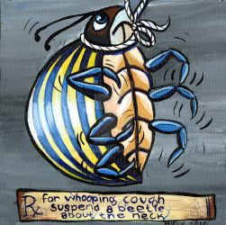 Rx: A Live Beetle by Catsbah