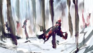 speed - forest.. by Seiikya
