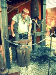 The Black Smith. by captainpaige