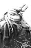 Daily Sketch - 8272012 - Leonardo by EryckWebbGraphics