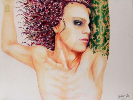 Ville valo_my first drawing