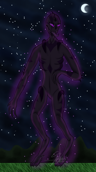 Enderman by Spawn-Of-Satan-666
