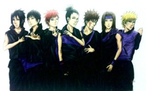 Naruto boys as 2PM by Amira-Amilia