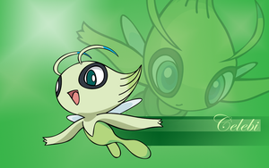 Celebi Vector Wallpaper by TheIronForce