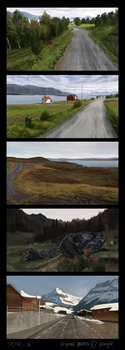 Landscape Studies 1 by Kiarya