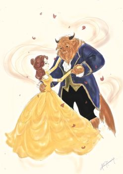 Beauty and the Beast by yuki-32k