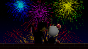 Fireworks by picano