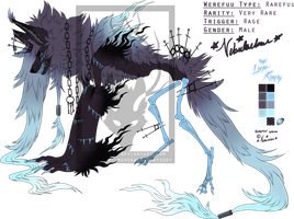 Halloween Rarefuu Auction!: THE LICH KING (CLOSED) by nebulaebae