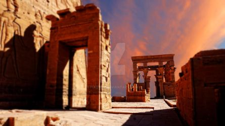 Egyptian background by piaglud