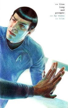 Live Long And Prosper by Vesea