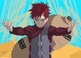 Gaara of the Sand by AirMasterParker