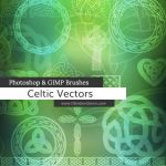 Celtic Knotwork Vector Photoshop and GIMP Brushes by redheadstock