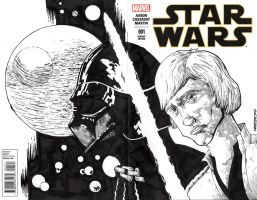 STARWARS sketch cover by drawhard