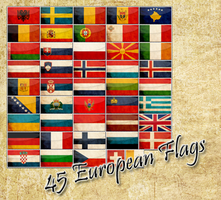 european flags by shetty05