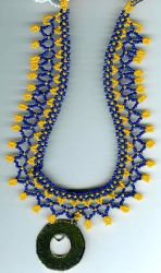Egyptian-style necklace by Refiner