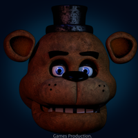 Freddy Fazbear v5 WIP  (4K) by GamesProduction