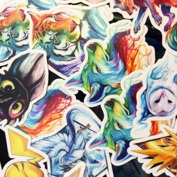 Vinyl Stickers! by Lucky978