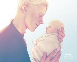 The day Draco was saved by upthehillart