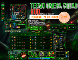 Teemo Omega Squad HUD League of Legends by LeftLucy