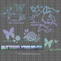 Butterfly_Brushes_By_MDFAT by MyDesireForAT