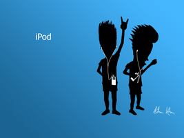 iPod: Beavis and Butthead by Adnan619