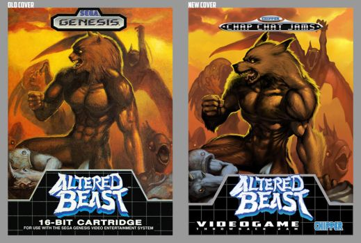 ChipperChapChatJAMS MEGA-box altered beast by danimation2001