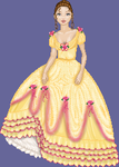 Belle's ball Gown by ginifur