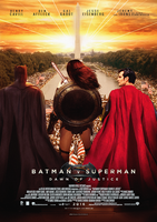 Batman V Superman Justice is Dawning poster by MessyPandas