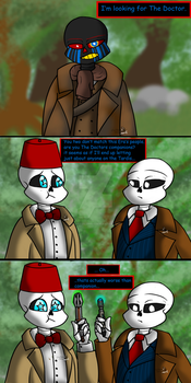 Doctor, Doctor, and... Another Doctor by Fluffeh-Shiba