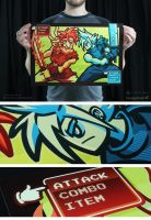 Attack vs Attack Poster by Winter-artwork