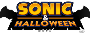 Sonic And Halloween Logo 2016 by NuryRush
