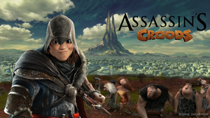 Assassin's Croods by KrokoZero