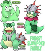 Slowpoke Family
