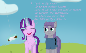 Let's Go Fly a Kite by MegaAnimationFan