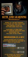 Guts and learning - Resistances by Menaria