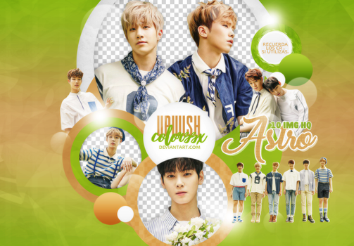 ASTRO PNG PACK #4/SUMMER VIBES by UpWishColorssx