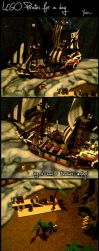 LEGO pirate ship lives again by tirsden