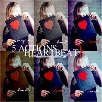 heart beat actions by obsessedwithyoou