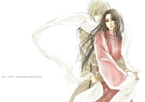 APH -hold me- Russia x China by astridyue