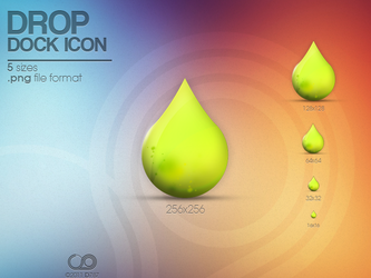 Drop icon by Deiz787
